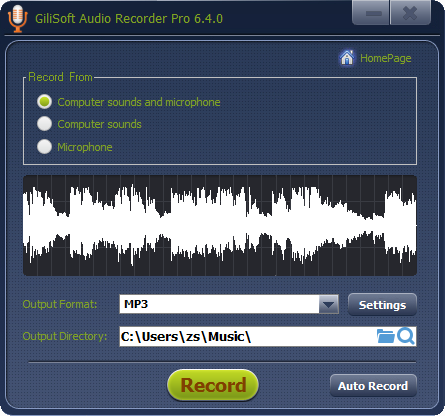 Free Audio Recorder - the best free audio recording software